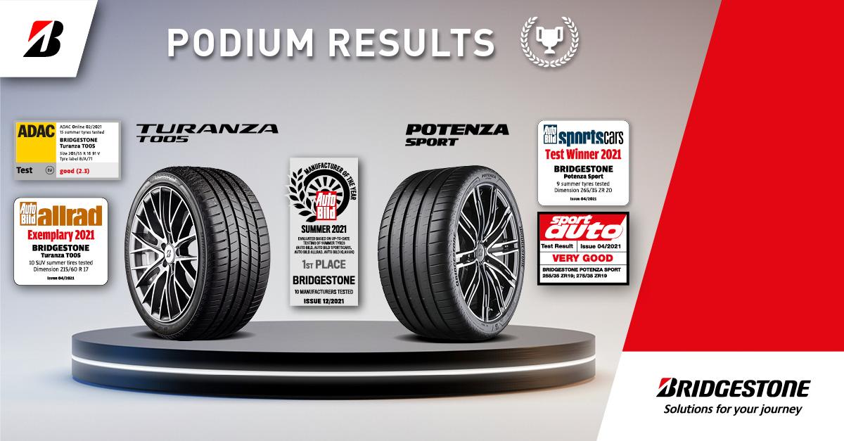 Bridgestone je proglašen proizvođačem godine